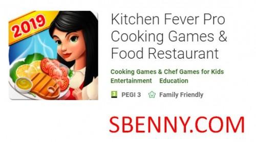 Cozinha Febre Pro Jogos de Culinária & amp; Restaurante de comida + MOD