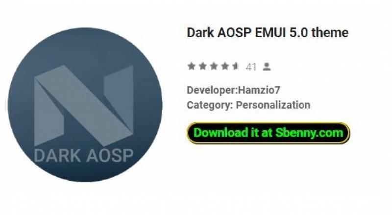 Tema oscuro de AOSP EMUI 5.0