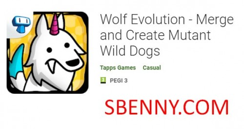 Wolf Evolution - Merge and Create Mutant Wild Dogs + MOD