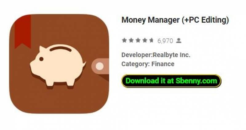 Money Manager (+ Editjar tal-PC)
