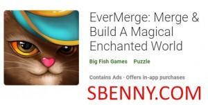 EverMerge: Zusammenführen & amp; Baue eine magische verzauberte Welt + MOD