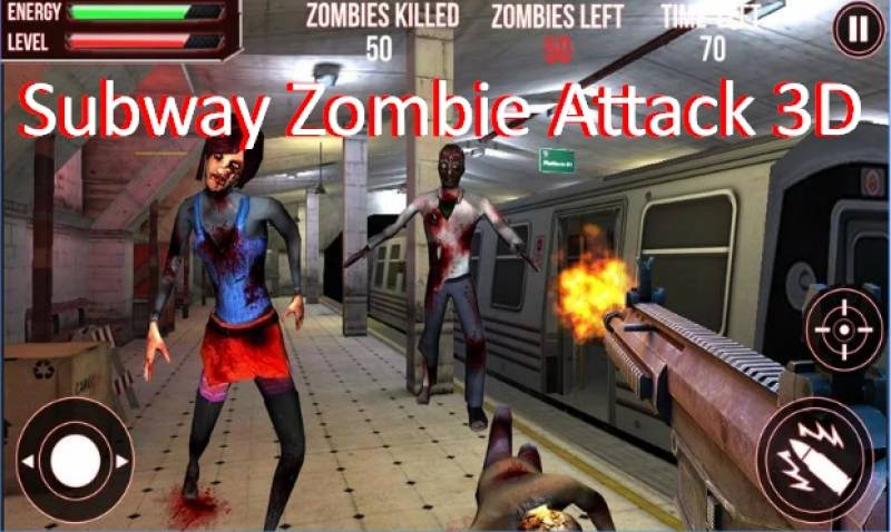 Subway Zombie Attack 3D + MOD