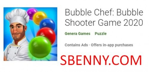 Bubble Chef: Bubble Shooter Game 2020 + MOD