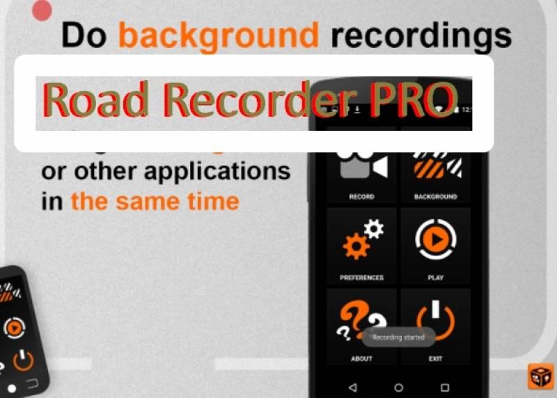 Road Recorder PRO + MOD