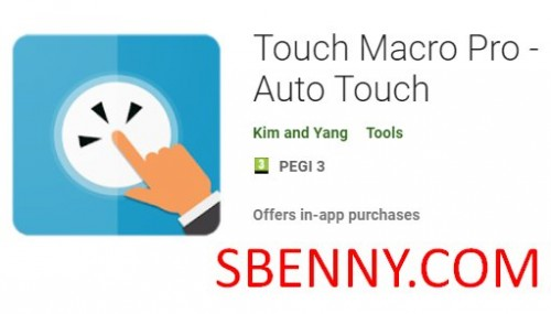 Touch Macro Pro - Auto Touch + MOD