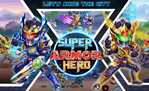 Superheld-Rüstung: City War - Robot Fighting Premium