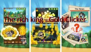 Богатый король - Золото Clicker + MOD