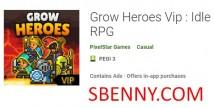 Вырасти Героев Vip: Idle RPG