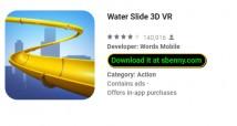 Tobogán acuático 3D VR + MODO