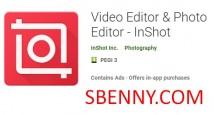 Editeur vidéo & amp; Éditeur de photos - InShot + MOD