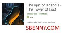 O épico da lenda 1 - A Torre dos Perdidos + MOD