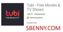 Tubi - Films gratuits & amp; Émissions de télévision + MOD