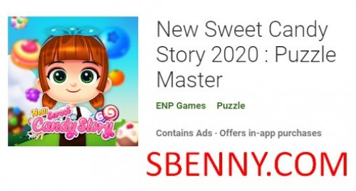 New Sweet Candy Story 2020 : Puzzle Master + MOD