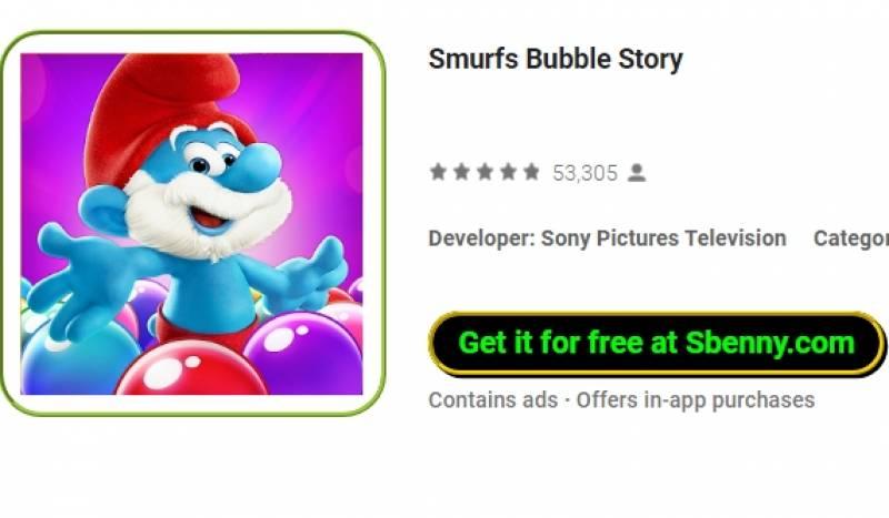 Schlümpfe Bubble Story + MOD