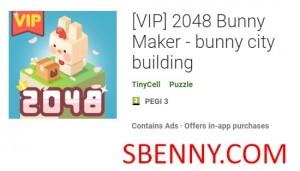 (VIP) 2048 Bunny Maker - Häschenstadtgebäude