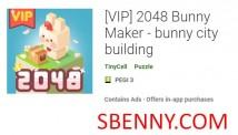 (VIP) 2048 Bunny Maker - Bâtiment de la ville de lapin