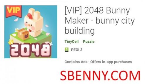 (VIP) 2048 Bunny Maker - bunny city building