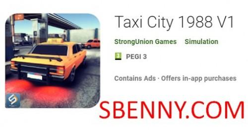 Taxi City 1988 V1 + MOD