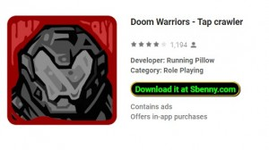 Doom Warriors - Tap Crawler + MOD