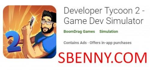 توسعه دهنده Tycoon 2 - بازی Dev Simulator + MOD