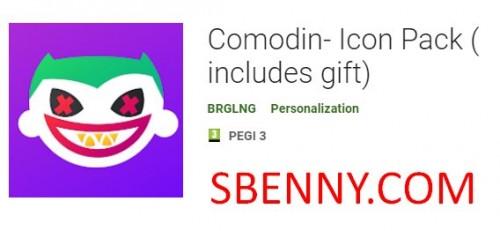 Comodin- Icon Pack (شامل هدیه) + MOD