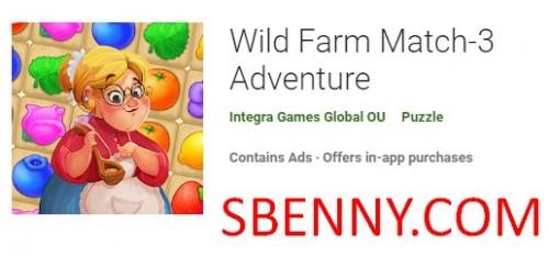 Wild Farm Match-3 Adventure + MOD