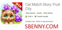 Cat Match Story: Fruit City + MOD