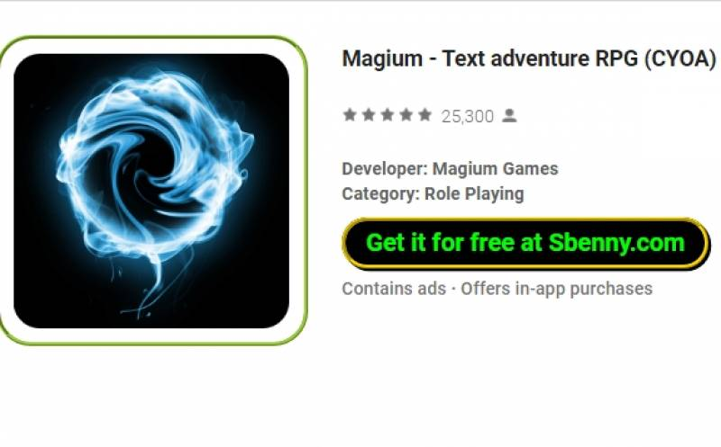 Magium - Adventure RPG (CYOA) + MOD