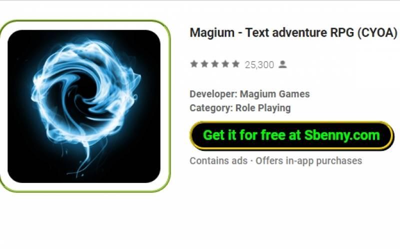 Magium - RPG avventura test (CYOA) + MOD