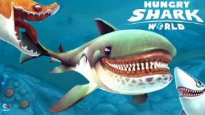 Hungry Shark mondiale + MOD