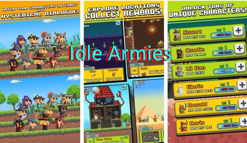 + Armées Idle MOD