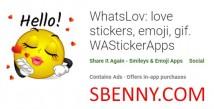 WhatsLov : 사랑 스티커, 이모티콘, gif. WAStickerApps + MOD