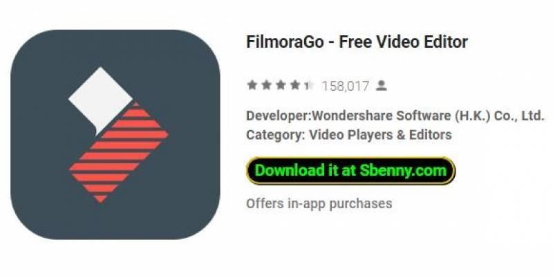 FilmoraGo - Kostenloser Video Editor + MOD