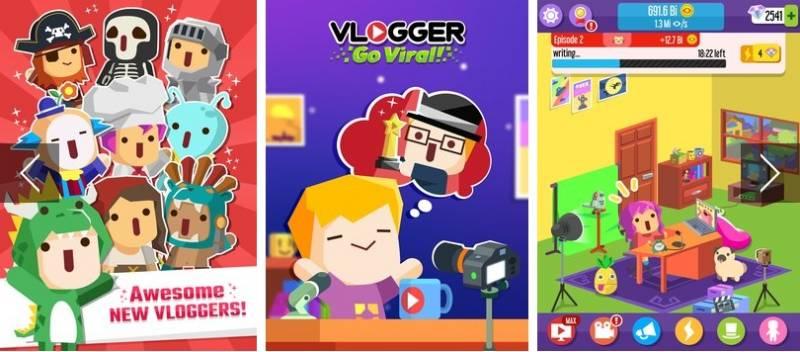 Vlogger Go Viral - Tuber Game + MOD
