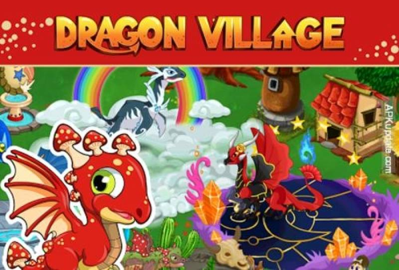 بازی Dragon Village -city سیم شیدایی + MOD
