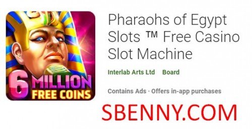 Pharaohs of Egypt Slots Machine Casino Free + MOD