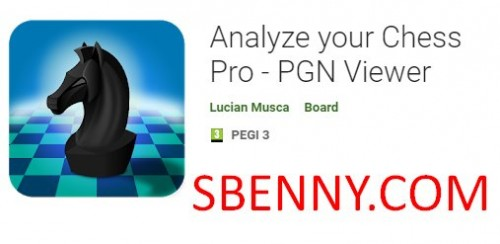 Chess Pro - PGN Viewer خود را تجزیه و تحلیل کنید