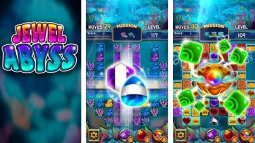 Jewel Abyss : Fantastic match 3 puzzle game + MOD