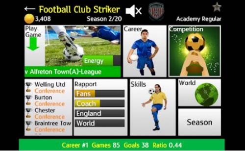 Clube de futebol atacante + MOD
