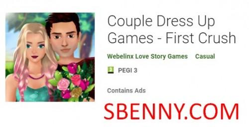 بازی های لباس تا زن و شوهر - اولین Crush + MOD