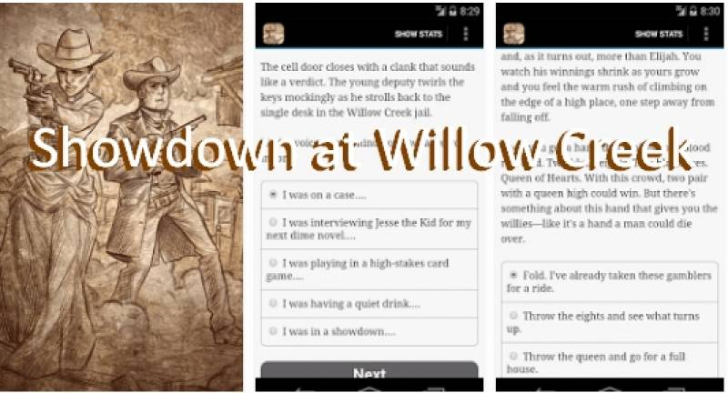 Showdown a Willow Creek