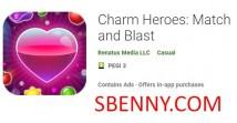 Charm Heroes: Match und Blast + MOD