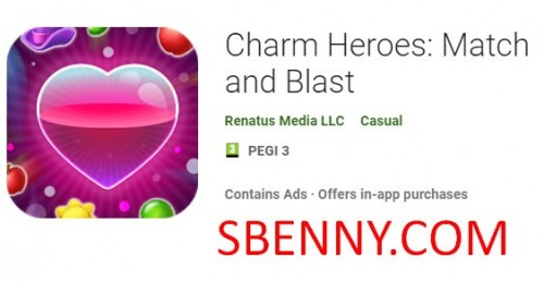 Charm Heroes: Match and Blast + MOD
