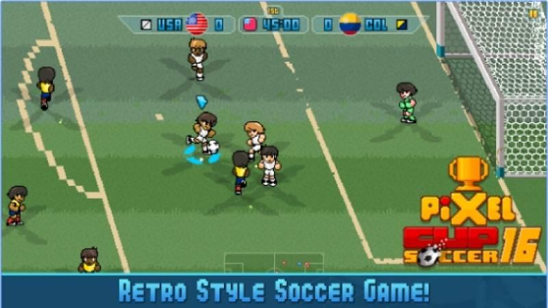 Tazza tal-Pixel Soccer 16