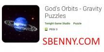 As órbitas do deus - quebra-cabeças da gravidade