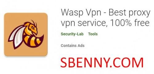 Wasp Vpn - Meilleur service VPN proxy, 100% gratuit + MOD