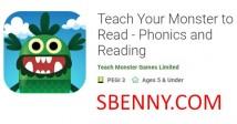 Apprenez à votre monstre à lire - Phonics and Reading + MOD