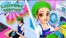Wäscherei-Service-schmutzige Kleidung, die Spiel + MOD