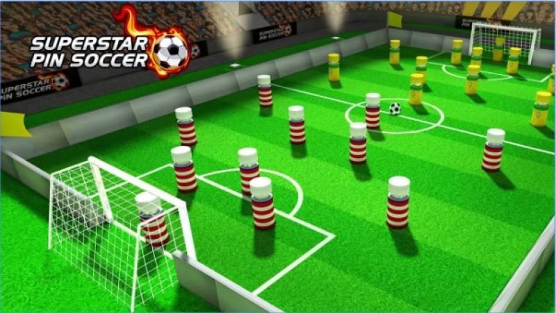 Superstar-Pin Fußball + MOD
