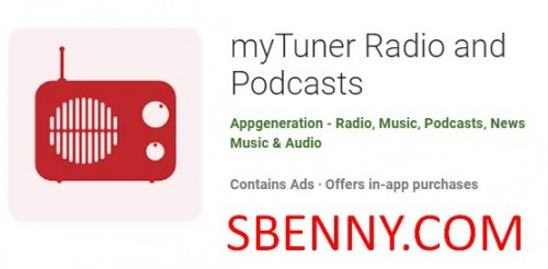 myTuner Radio and Podcasts + MOD